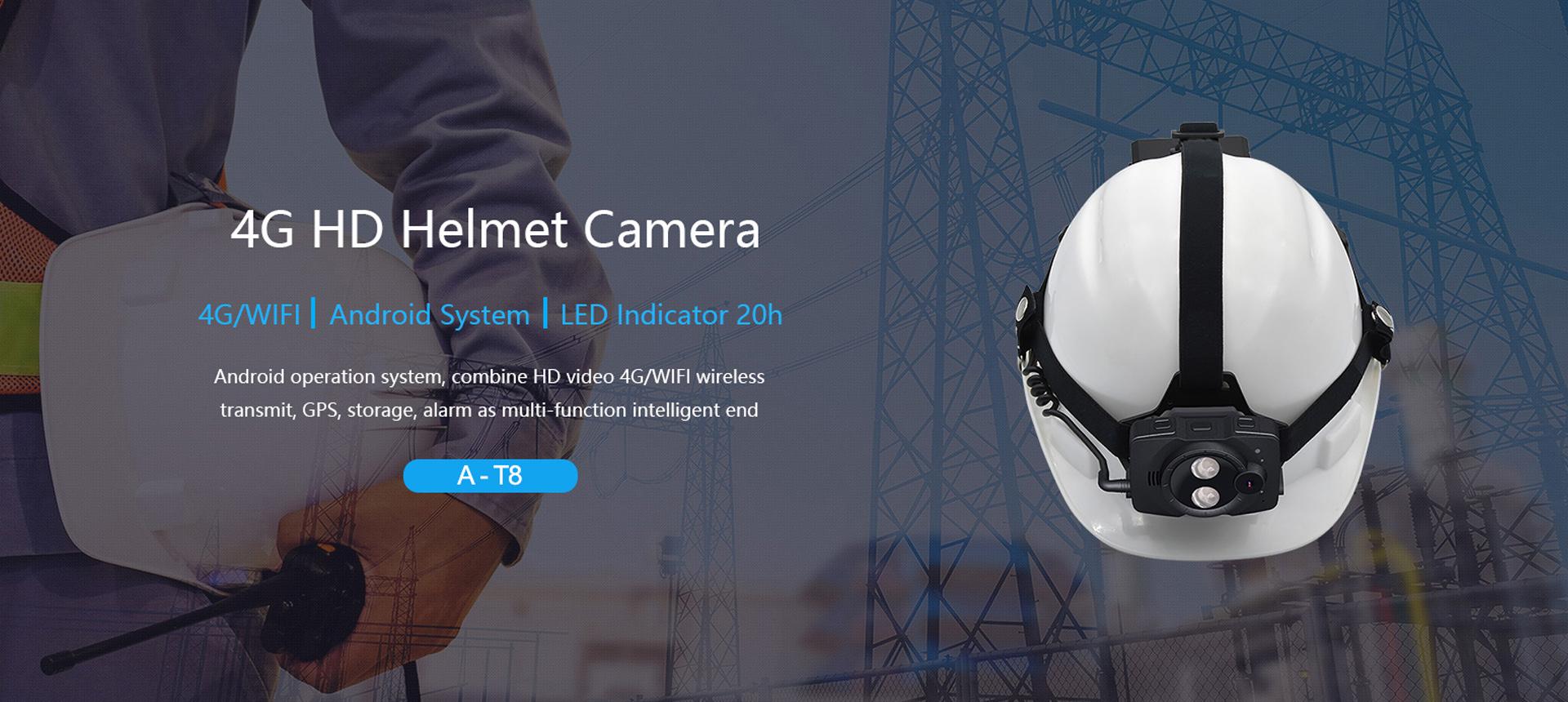 4G HD 1080P Helmet Camera