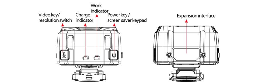 GPS Body Camera A-D10