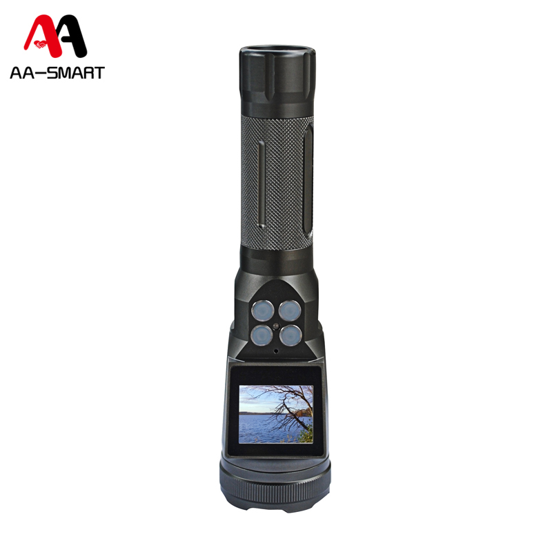 Multi-functional HD Explosion Proof Camera Military Flashlight