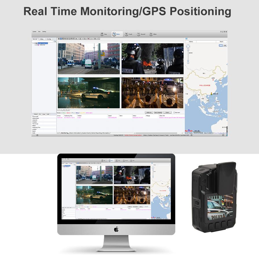3G/4G Police Body Camera CPS03