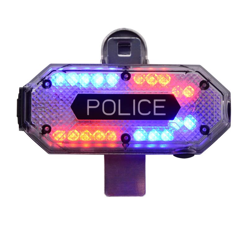 Police Shoulder Alert Light